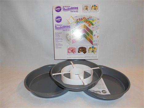 Wilton kit set per torta a scacchiera