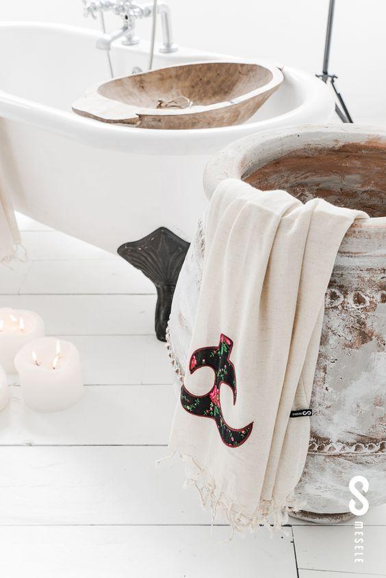 Une jolie déco Zen et Bohéme pour ma salle de bainFreed'Home Deco