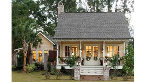 a little house: Ideas, Country Cottages, Sweet, Little House, Guest House, Dreams House, Small House, Front Porches, Little Cottages
