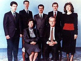 Bashar al-Assad & Fam