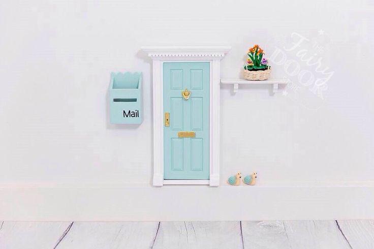 Aqua Fairy Door Inspiration
