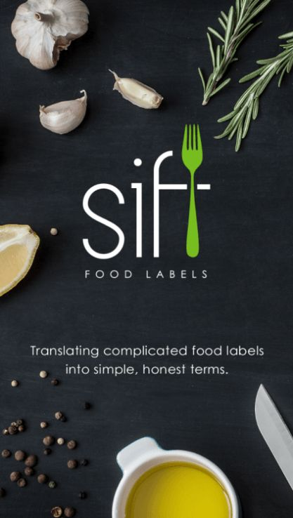 Sift Food App Review - scan and sort immediately! Great aid for allergies and celiacs.