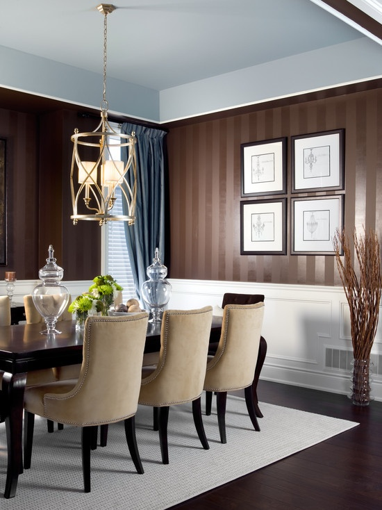 10 Best Formal Upholstered Dining Room Chairs Images On Pinterest Impressive Formal Contemporary Dining Room Sets Design Ideas
