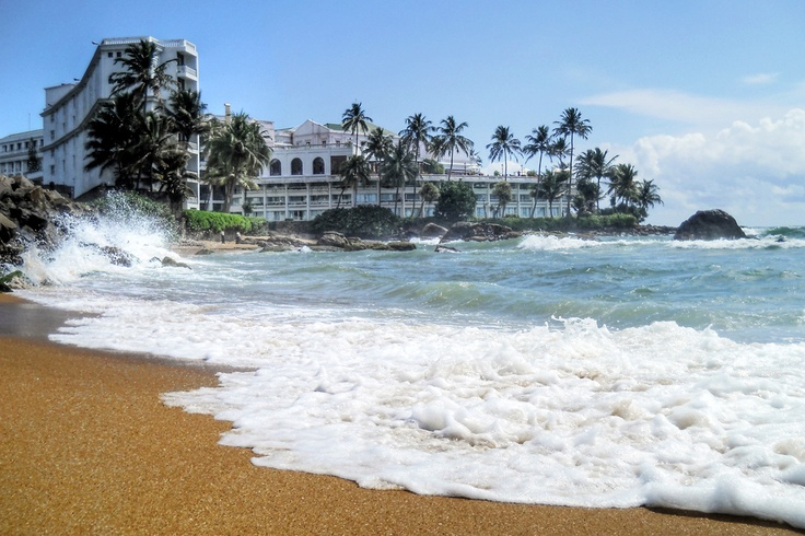 Mount Lavinia, Sri Lanka. My mother was brought up on just across the tracks of this beach! Lucky her!
