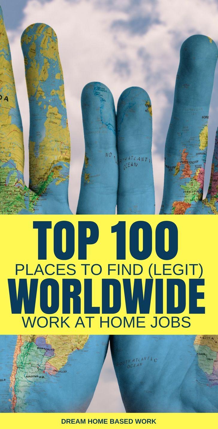 Legitimate online jobs worldwide