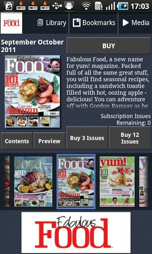 Fabulous Food - the No. 1 magazine for perfect food for every occasion - contains over 100 of the very best recipes that are easy to make, gorgeous to look at and delicious to eat!<p>Aimed at busy modern cooks with great taste but limited time, Fabulous Food offers something for every culinary occasion, from glamorous menus created by ultra-stylish cooks to quick and easy suppers for appetising weeknight meals packed with flavour.<p><br>With luscious photography that's good enough to eat…