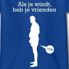 Als je windt heb je vrienden shirt.Uitspraak van Giel Beelen, begin de dag rustig shirt.Humor, toffe t-shirts en funny shirts van Halve Garen. Veel meer grappige shirts op Halvegaren.nl