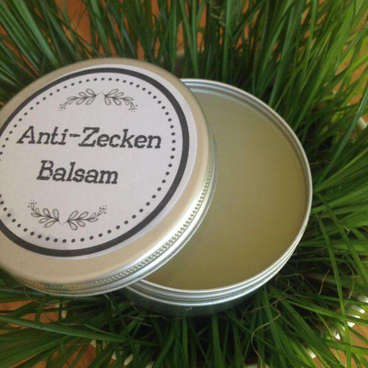 Anti-Zecken-Balsam mit Kokosöl und ätherischen Ölen gegen Zecken   – DIY