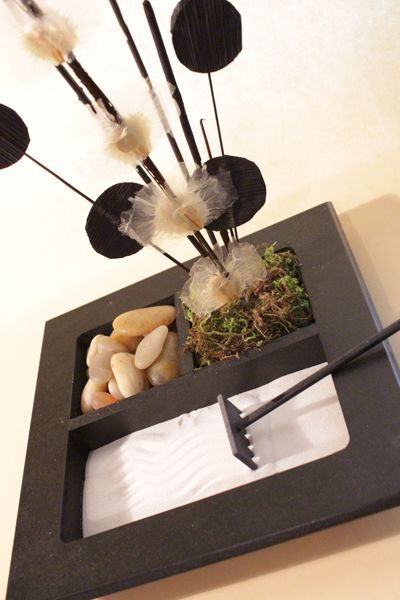 Se puede construir un peque o jard n zen de interior en - Pequenos jardines zen ...