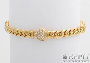 WEMPE Armband mit Diam.-Brill., zus. 1,37ct., TW/IF (Lupenrein)