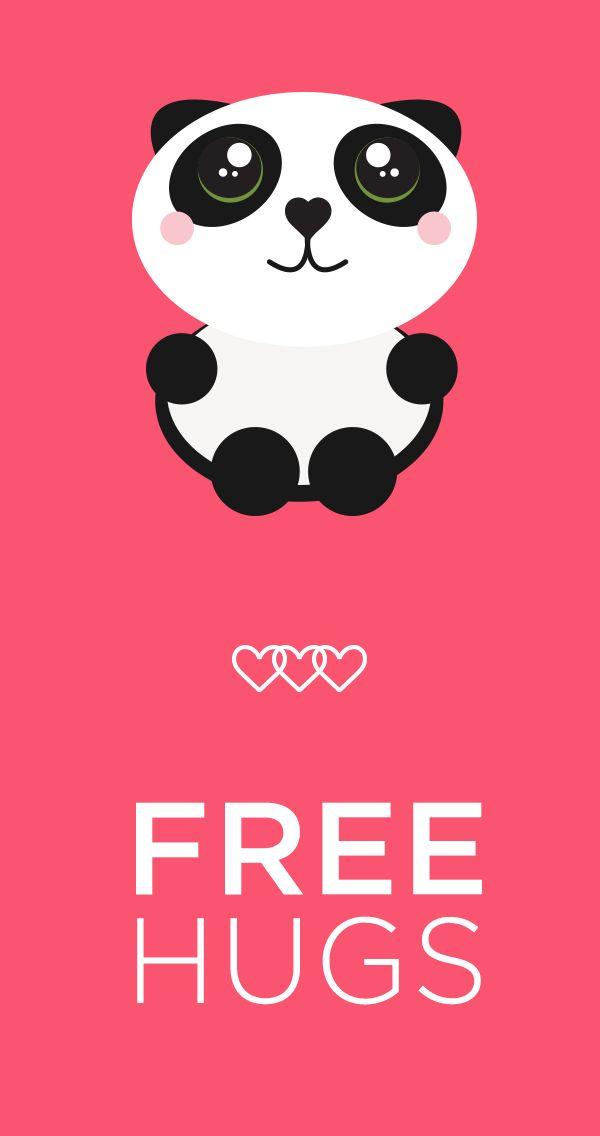 ae008412515d4be34ba0cd9fd4f5429f free hugs pink pink pink