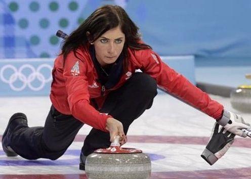 Women's Olympic curling