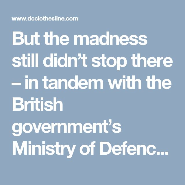 """But the madness still didn't stop there – in tandem with the British government's Ministry of Defence, the military sprayed S. marcescens, an anthrax simulant and phenol off the coast of Dorset in southern England from a ship. Not just once – over a hundred times. They, too, sprayed zinc cadmium sulfide across large patches of Britain. By the way – the biowarfare simulation attack on America was deemed a """"success."""" Meaning, the conclusion was that another country could indeed attack…"""