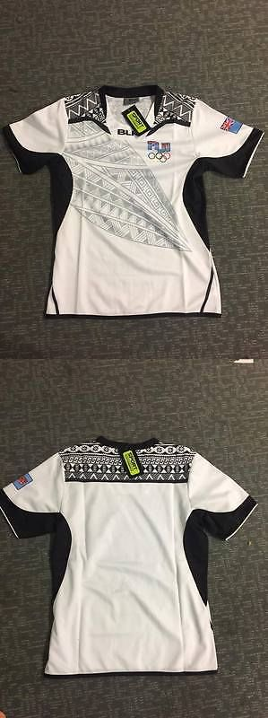 Rugby 21563: Fiji Home Rugby 7S Olympic 2016 Champion Jersey Size S,M,L,Xl,Xxl BUY IT NOW ONLY: $55.0