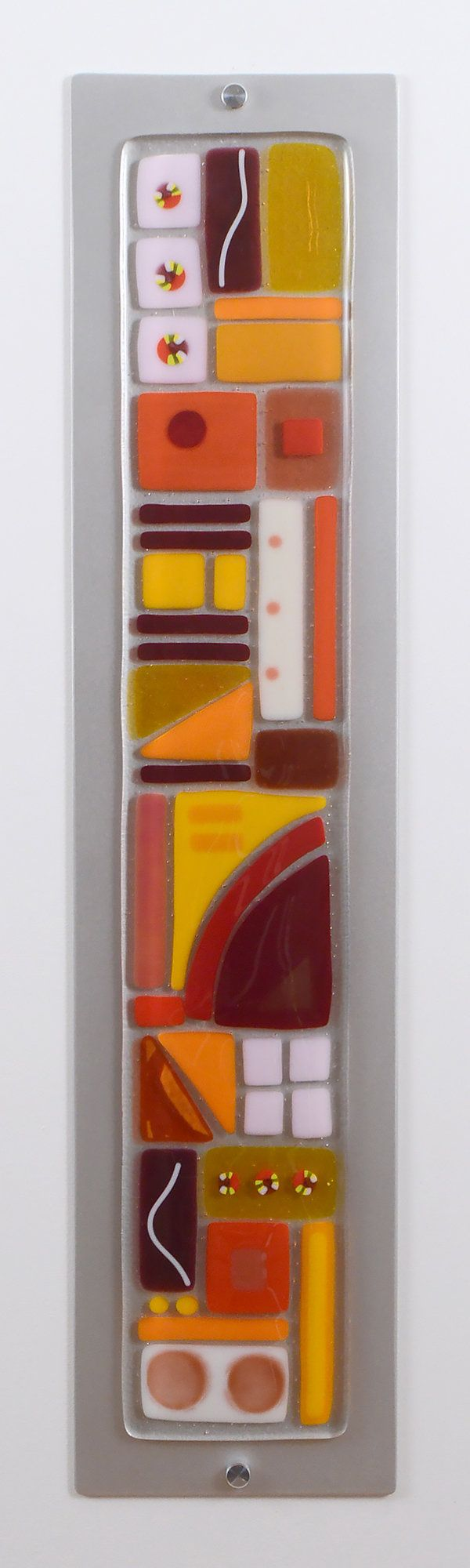 Spice Jar by Mary Johannessen: Art Glass Wall Sculpture available at www.artfulhome.com