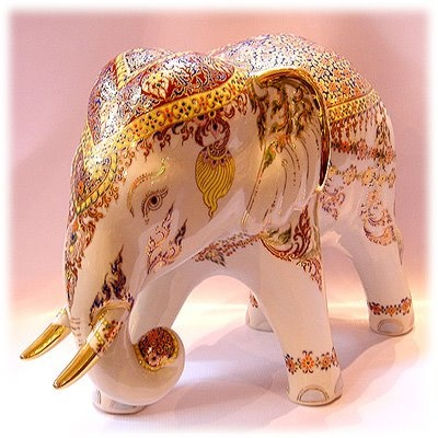antique thai elephant