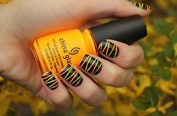 Fall inspired nails <3