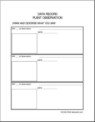 plant observation log pictures to pin on pinterest thepinsta. Black Bedroom Furniture Sets. Home Design Ideas
