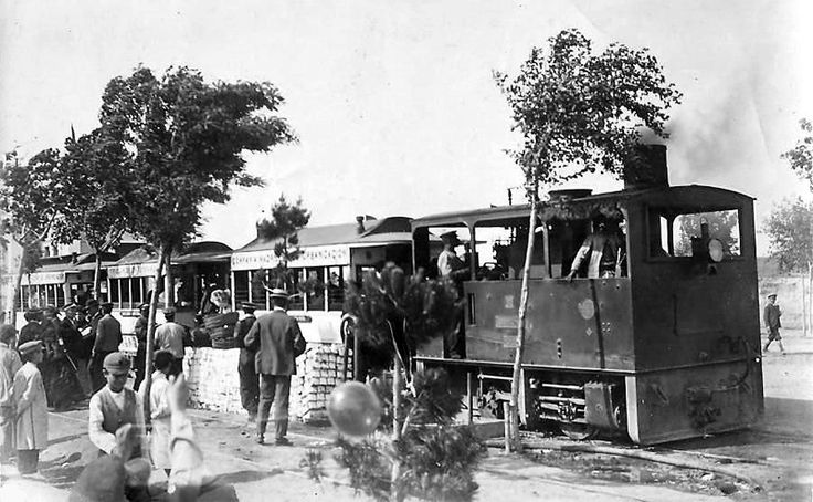 Tranvía de vapor a la Ciudad Lineal