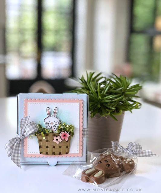 Monica Gale Top STAMPIN'UP! UK Demonstrator: Mini Pizza Box the easiest Easter Treat