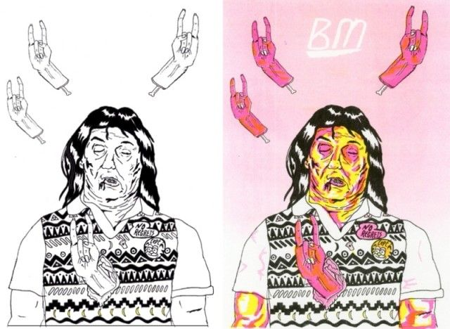 Amazing Thrill Murray Coloring Book 7  Zombieland Bill Murray
