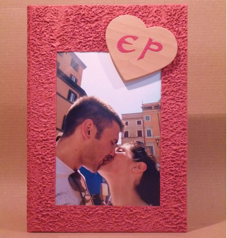 GUESTBOOK LIBRO OSPITI MATRIMONIO + FOTO CUORE LEGNO E INIZIALI CARTA PERGAMENA