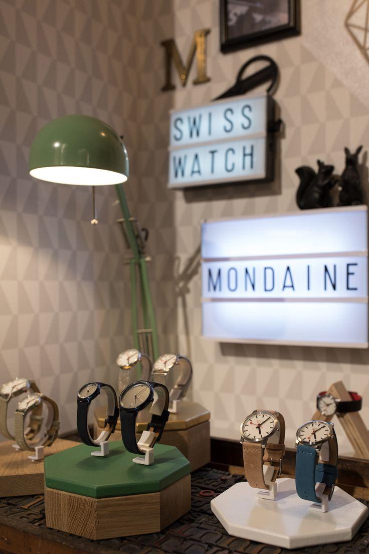 The iconic and Original Swiss Railways Clock Design. Mondaine Collection. #Mondaine #swisswatch #watches