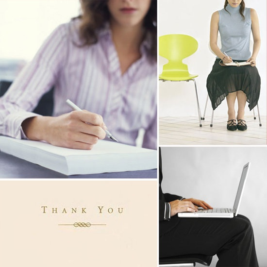 Writing a thank you letter after a job interview is a must! In fact, some employers think less of those interviewees who fail to follow-up promptly
