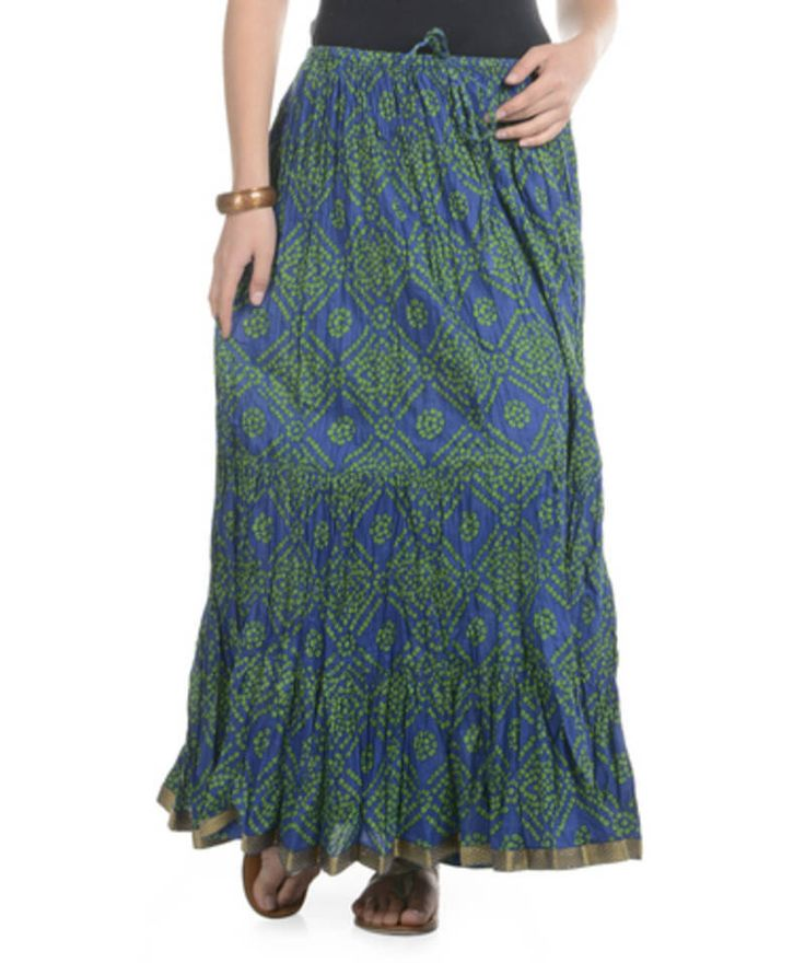 Cotton Skirts Online at Mirraw.com