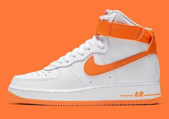 Nike Air Force 1 High Orange 334031 109 Release Info