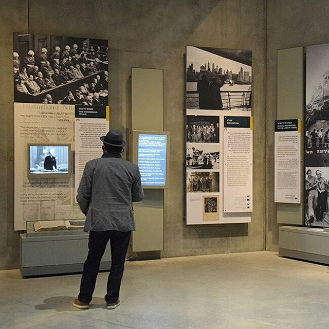 The Yad Vashem Holocaust History Museum. Architect: Moshe Safdie