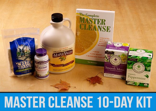 The Master Cleanse, How to Rid your Body of Up to 30 pounds of Accumulated Waste