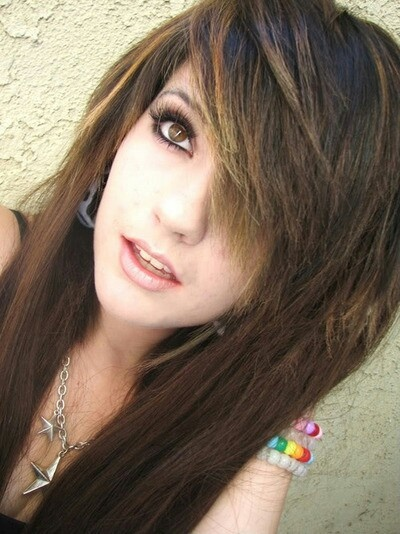 Leda Muir. #brown #dyed #hair #pretty #LedaMonsterBunny