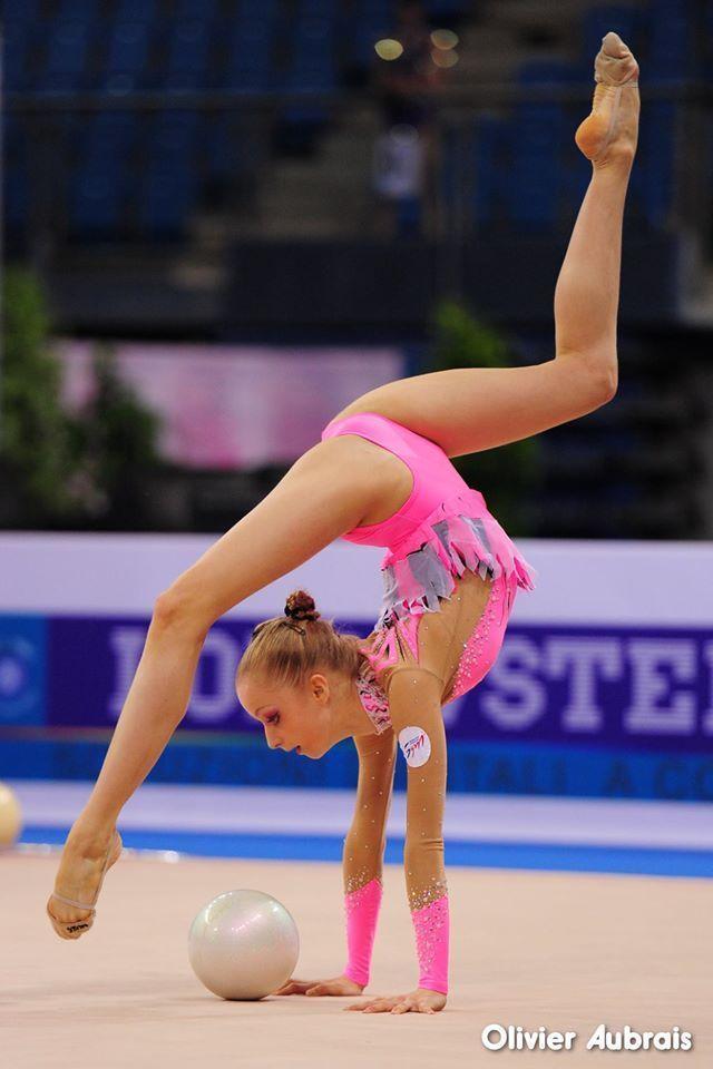 Axelle JOVENIN (FRA) Ball   Gymnastics, Rhythmic ...