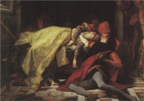 Death of Francesca da Rimini and Paolo Malatesta - Alexandre Cabanel