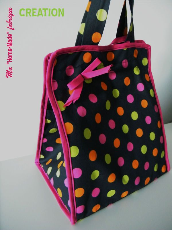 TUTO: lunch bag