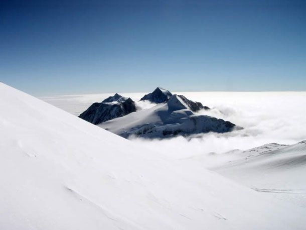 Climb the Seven Summits (Bass List): Vinson Massif 16,050ft Ellsworth Mountains Antarctica