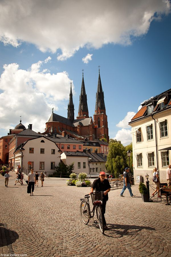 Aaaand this just made me tear up. Simpler times.    Uppsala, Sweden