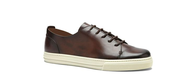 Gucci  Brown leather sneakers, €540