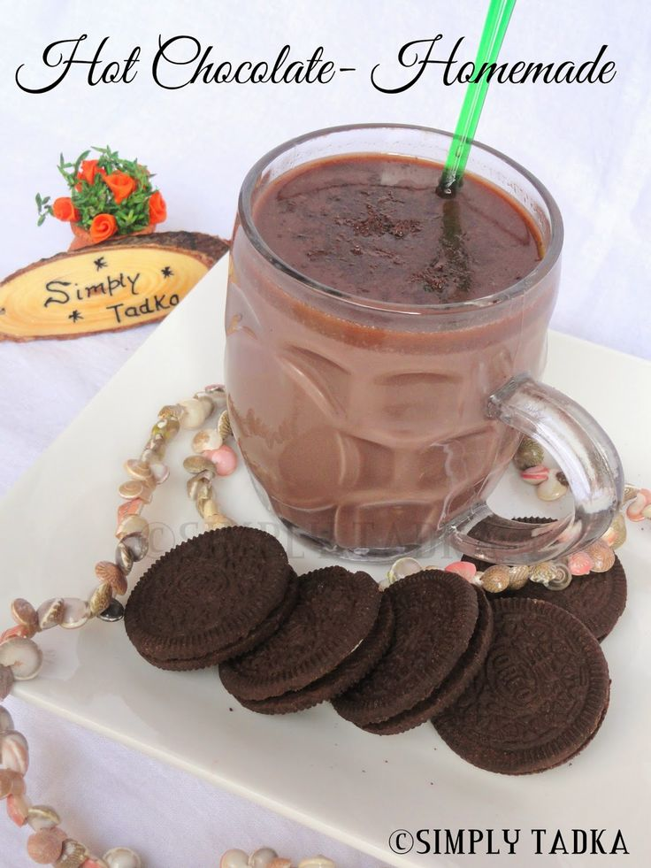 Hot Chocolate – Homemade ~ Simply TADKA