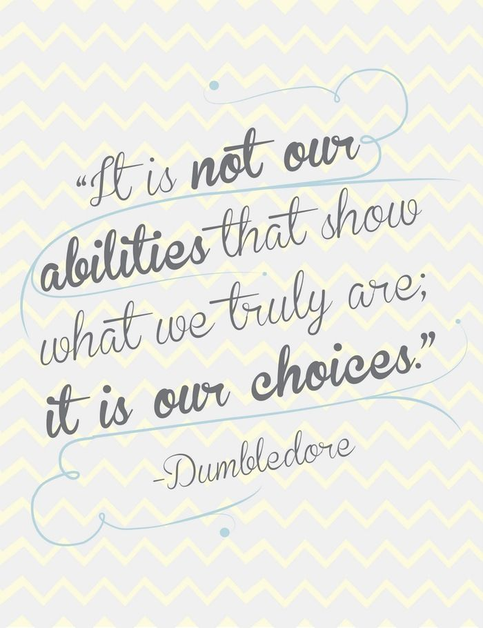 Isn't that the truth :) choices choices choices! ALL about choices. I can proudly say in my adult life I have ALWAYS made choices that were in good character and I am proud of that.
