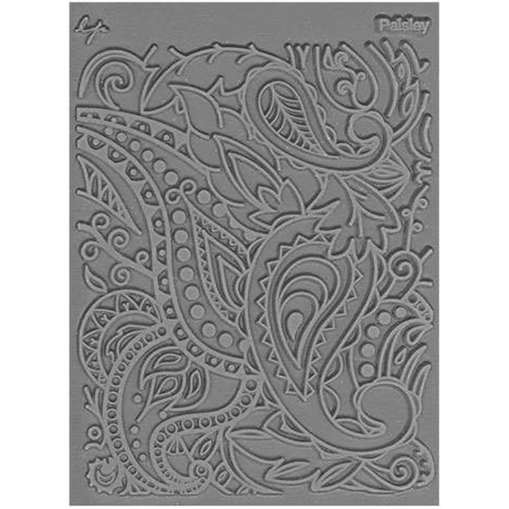 Lisa Pavelka Stamp Set. Create beautiful textural designs on polymer clay, metal clay and other moldable mediums. Each one of these texture stamps is etched extra deep to give highly detailed results for both dimensional design and surface imprinting.