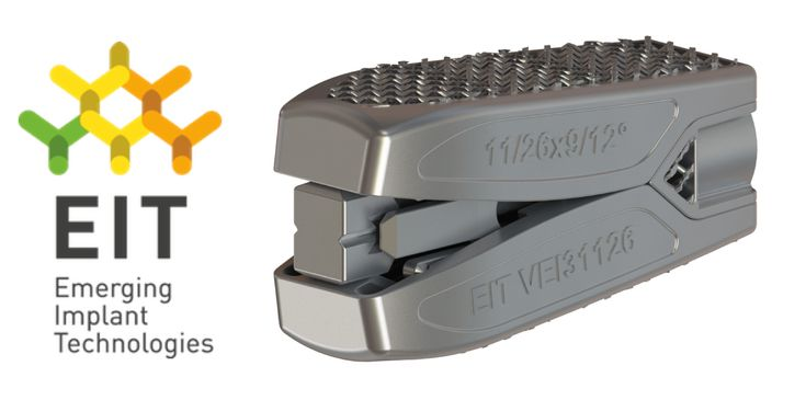 EIT Emerging Implant Technologies Announces CE Mark and First Cases for the World's First Fully 3D Printed Adjustable Cage. - http://www.orthospinenews.com/2018/02/13/eit-emerging-implant-technologies-announces-ce-mark-and-first-cases-for-the-worlds-first-fully-3d-printed-adjustable-cage/