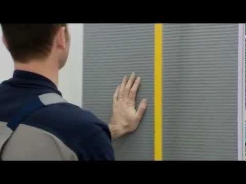 Wand- und Bodenverkleidung mit JACKOBOARD (Anwendungsfilm deutsch) - YouTube