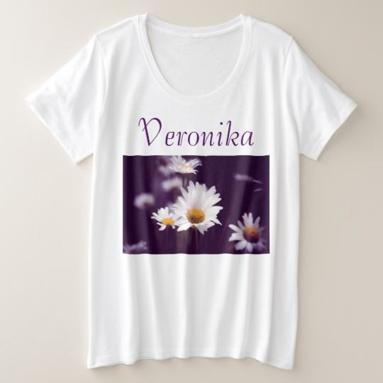 Camomile dreams plus size T-Shirt, customized, personalized, zazzle, photo, photography, artwork, buy, sale, gift ideas, camomile, flowers, divination, love, violet, purple, liliac, white, dreams, bright, colorful, glow, petals, dark, daisies #womenplussize