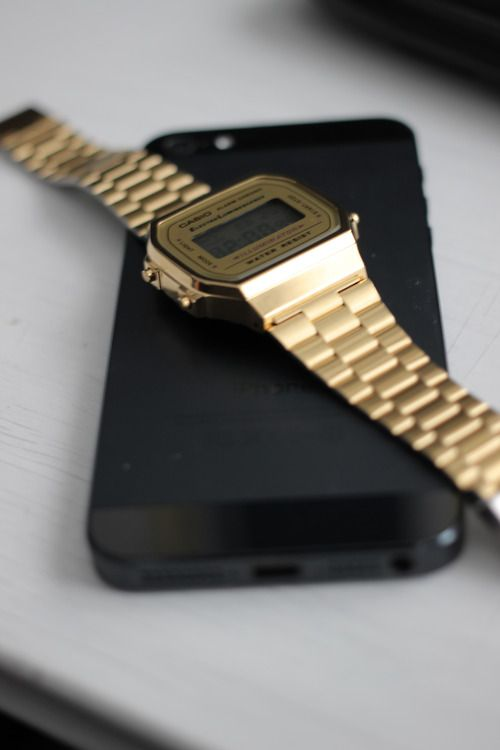 Gold Casio Things To Wear Pinterest Casio Watch Casio And Watches