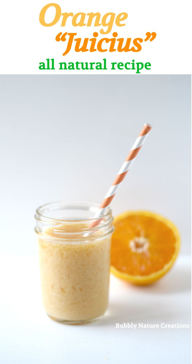 "#DIY Drink Recipes: Orange ""Juicius"" ~All Natural~"
