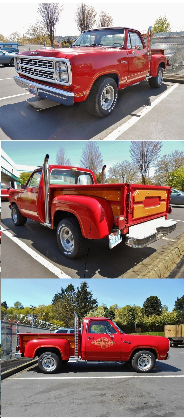 Home by year 1979 cars 1979 trucks car pictures - 1979 Dodge L Il Red Express Truck With Only 5 118 Made The