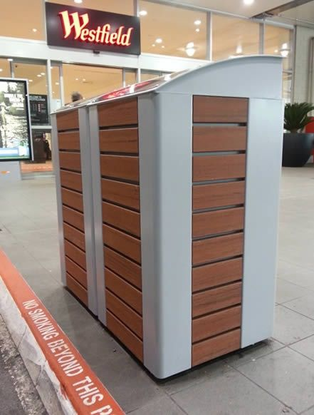 Furniture Sahara; bin enclosure #ModWood #Furniture