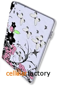 Samsung 15.4 inch Laptop Frosted Skin Sticker/Protector (Flower and Butterflies)